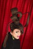 Coy Drag Queen Imágenes de archivo libres de regalías