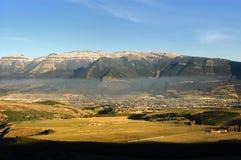 Coyhaique o Chile imagens de stock