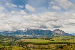 Coyhaique Patagonia, Chile arkivfoton