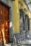 Coyoacan arkitektur I royaltyfria bilder