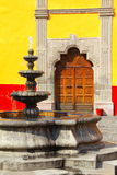 Coyoacan I. Architecture of coyoacan, in mexico city, mexico Royalty Free Stock Photo