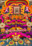 Day of the Dead Offering Altar, Home of Frida Kahlo in Mexico Stock Image