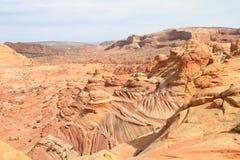 USA, Arizona: Coyote Buttes - Bizarre Landscape Stock Images