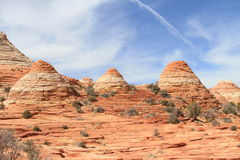 USA, Arizona: Colorful Sandstone Rock Formations  Royalty Free Stock Images