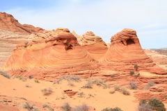 USA, Arizona: Bizarre Rock Formations Royalty Free Stock Photos
