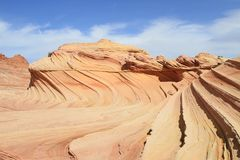USA, Arizona/Coyote Buttes - Sandstone Waves Royalty Free Stock Photo