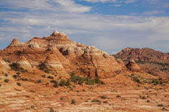 Coyote Buttes. Hot desert landscape in Utah - Coyote Buttes Royalty Free Stock Photo