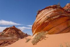 Coyote Buttes Royalty Free Stock Image