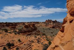 Coyote Buttes Royalty Free Stock Images