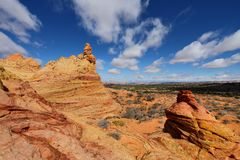 Coyote Buttes South Royalty Free Stock Photography
