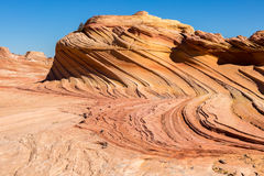 Coyote Buttes in the Vermilion Cliffs Arizona Stock Images