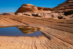 Coyote Buttes in the Vermilion Cliffs Arizona Royalty Free Stock Images