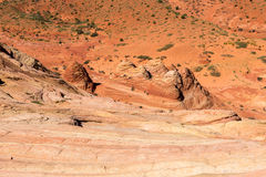 Coyote Buttes in the Vermilion Cliffs Arizona Stock Photos