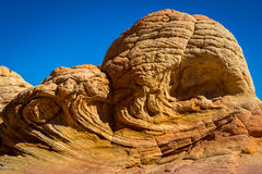 Coyote Buttes in the Vermilion Cliffs Arizona Royalty Free Stock Photography