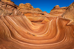 Coyote Buttes in the Vermilion Cliffs Arizona. Coyote Buttes in the Vermilion Cliffs Northern Arizona Royalty Free Stock Photo