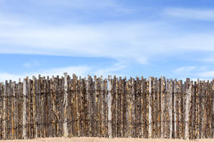 Coyote Fence Royalty Free Stock Photos