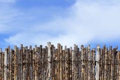 Coyote Fence stock photo