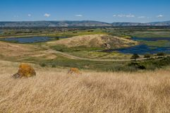 Coyote Hills Royalty Free Stock Photo