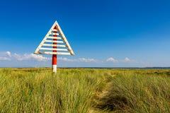 Coza na praia de Ellenbogen, Sylt Imagens de Stock