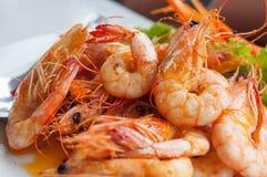 Coza o camarão Foto de Stock Royalty Free