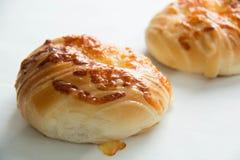 Coza o queijo do pão fotos de stock