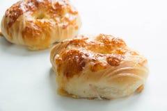 Coza o queijo do pão foto de stock