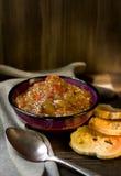 Coza a salada da beringela Imagens de Stock