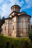 Cozia church. Very old stone church in transylvania stock photo