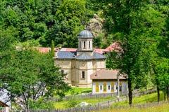 Cozia-Kloster - Rumänien lizenzfreie stockfotografie