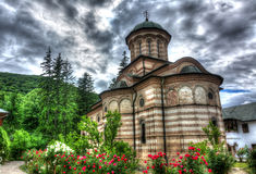 Cozia Monastery. In Calimanesti, Romania Stock Photography