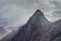 Cozia Mountains, Romania Royalty Free Stock Photography