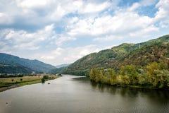Cozia nationalpark i Rumänien Royaltyfri Bild