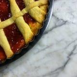 Cozimento da torta de Marmelade imagens de stock royalty free