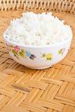 Cozimento do arroz Imagem de Stock