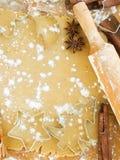 Cozimento do Natal Imagem de Stock Royalty Free