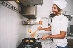 Cozimento e conceito culinário Imagem de Stock Royalty Free