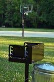 Cozimento na grelha no parque Imagem de Stock Royalty Free