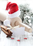 Cozimento para o Natal Fotos de Stock Royalty Free