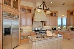 Cozinha à moda Foto de Stock Royalty Free