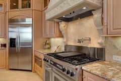 Cozinha à moda Fotos de Stock Royalty Free
