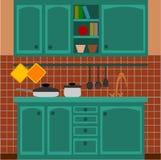 Cozinha Fotografia de Stock Royalty Free
