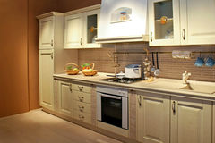 Cozinha 2 do vintage fotografia de stock royalty free