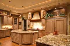 Cozinha bonita Foto de Stock Royalty Free