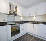 Cozinha branca imagens de stock