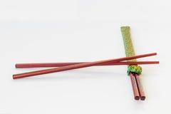 Cozinha: Chopsticks Fotografia de Stock