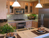 Cozinha clássica imagens de stock royalty free