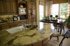 Cozinha com console 2 Foto de Stock Royalty Free