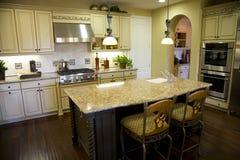 Cozinha com granito Imagens de Stock