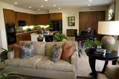 Cozinha com sofá Fotos de Stock