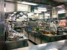 Cozinha comercial Foto de Stock
